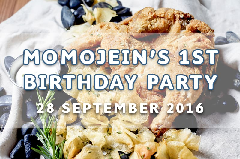 EVENT: MOMOJEIN'S FIRST BIRTHDAY PARTY