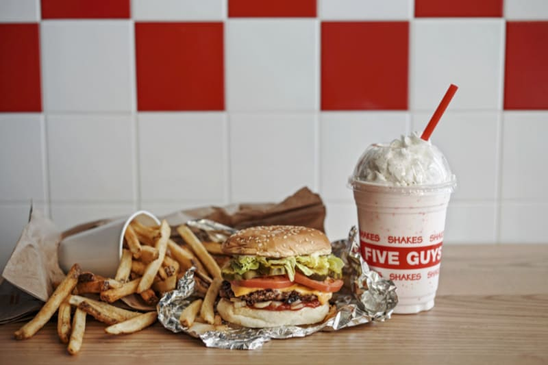 Five Guys is Open in Hong Kong! We checked 'em out