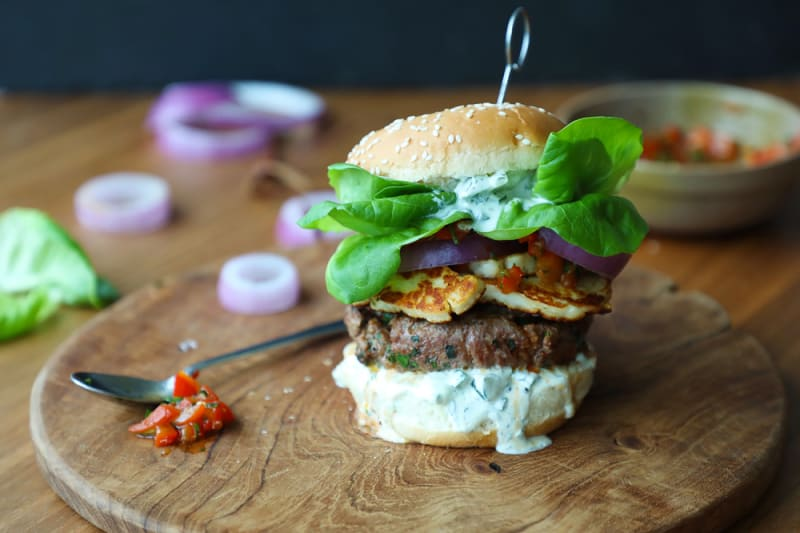 Recipe: Ultimate Lamb Burgers