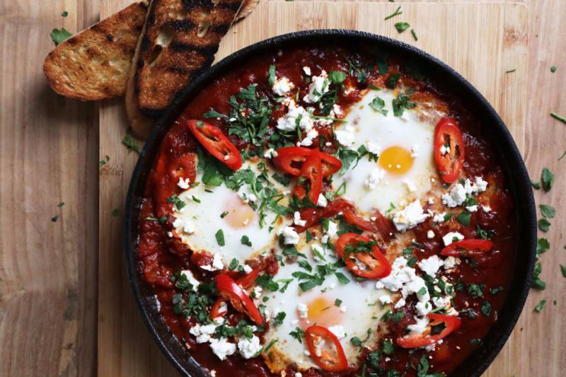 Recipe: Chilli Chorizo Shakshuka