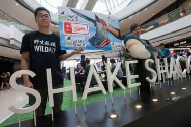 Shake Shack Pop-Up Protest