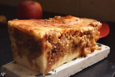 Recipe: Apple-Pie-Custard Loaf