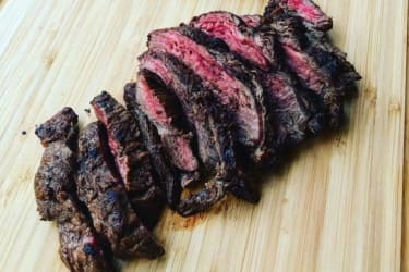 Recipe and Video: Marinated Hanger Steak