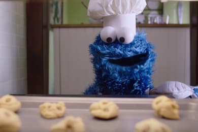 Apple Teams Up with the Cookie Monster in One Tasty Video