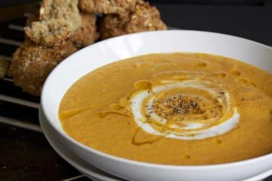 Recipe: Winter Veg Soup with Soda Bread Rolls
