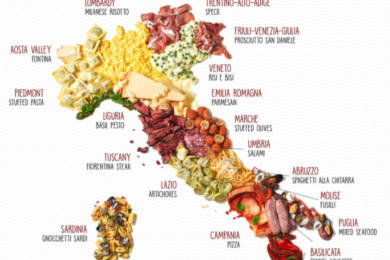 Infographic: Putting Italian Cuisine on the Map