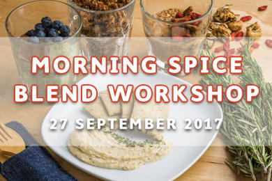 Morning Spice Blend Workshop by SpiceBox Organics