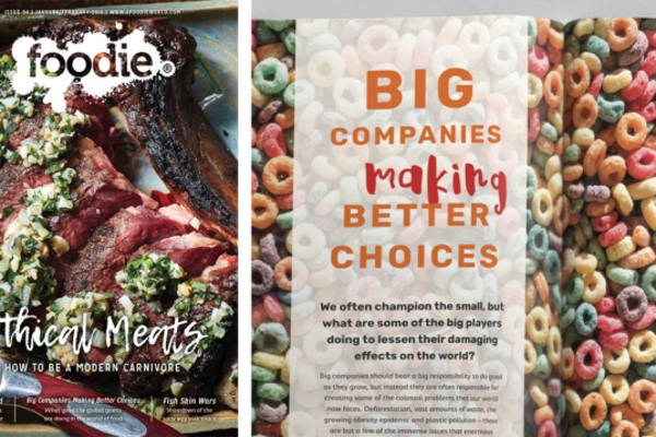 Foodie Magazine January/February 2018 Issue Out Now: Ethical Meats