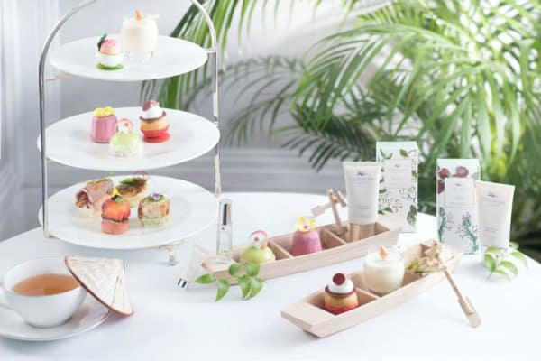 Sweet Blossom Afternoon Tea at The Langham