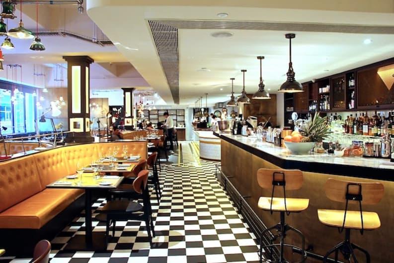 Sneak Peek into Gordon Ramsay's Bread Street Kitchen