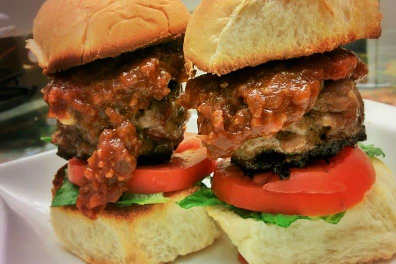 Iron Foodie Entry: Pork Sliders with Mango Jalapeño Barbecue Sauce