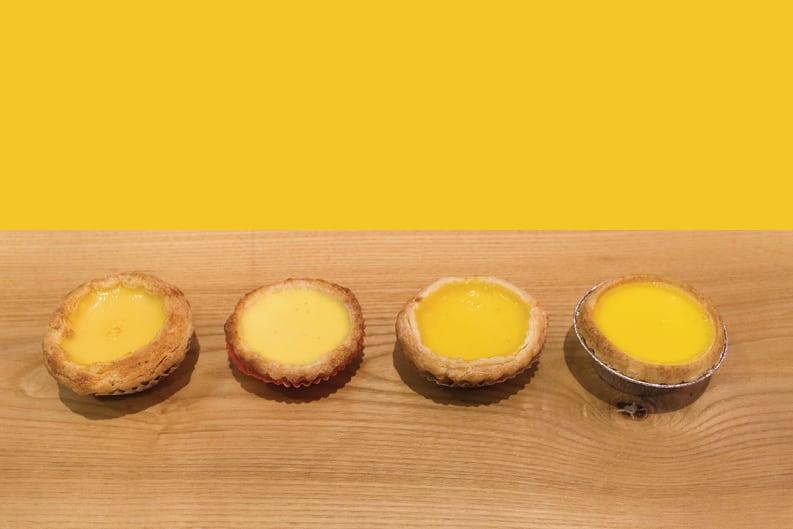 Hong Kong's Best Egg Tart