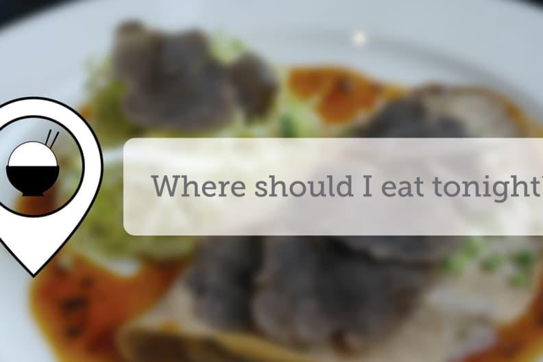 Where Should I Eat Tonight - April IX