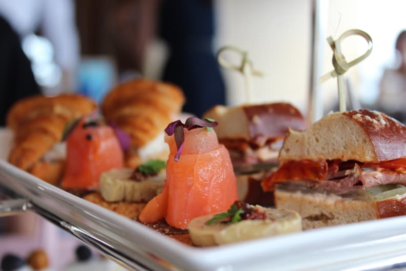 Elie Saab Inspired Afternoon Tea at Café Gray Deluxe