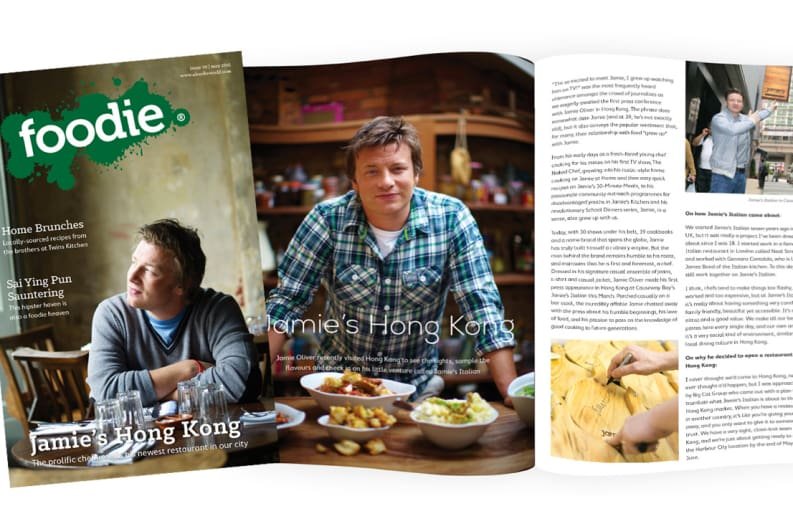 The May Issue of Foodie