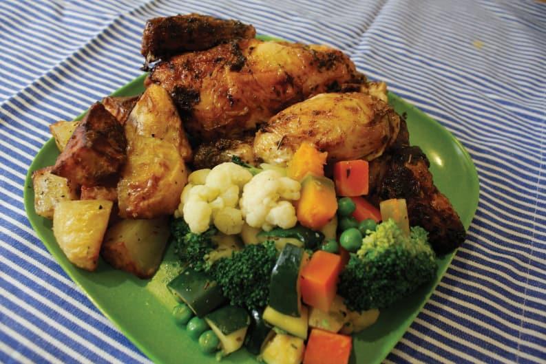 Food War: Playing Chicken