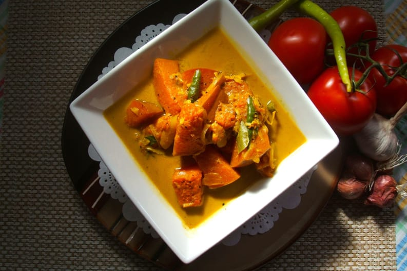 Simple Pumpkin Curry
