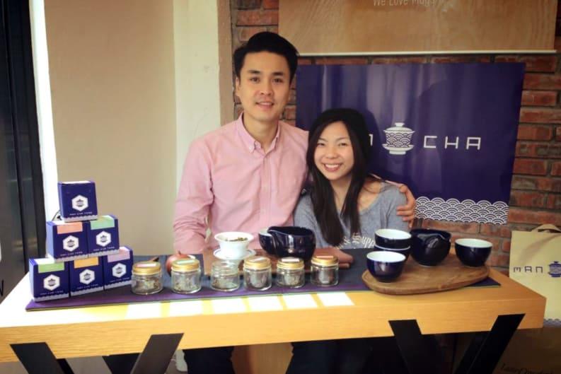 Man Cha Teas Event