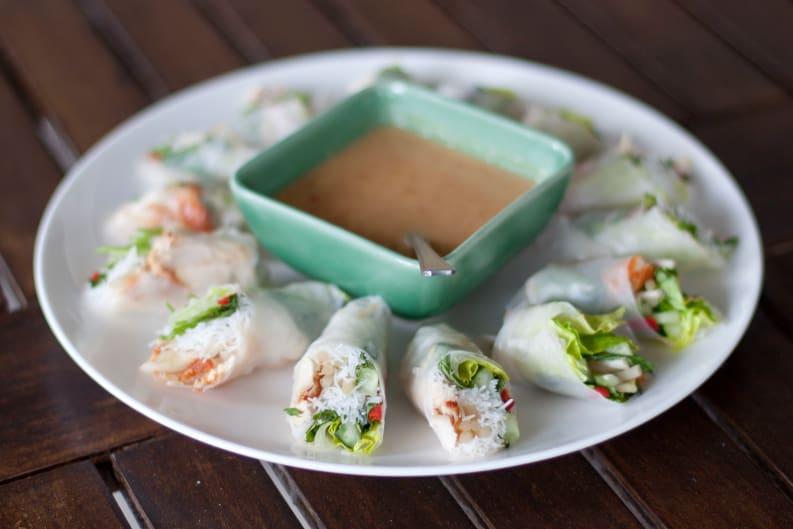 Vegan-Not-Your-Traditional Vietnamese Spring Rolls Recipe