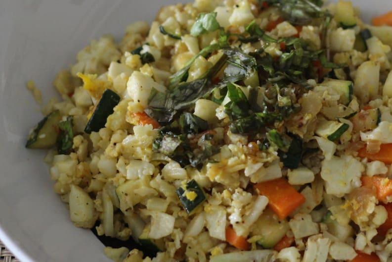 "Fried ""Cauliflower Rice"""