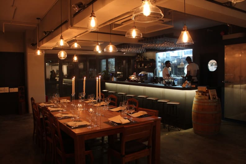 Dine-Art in Wong Chuk Hang