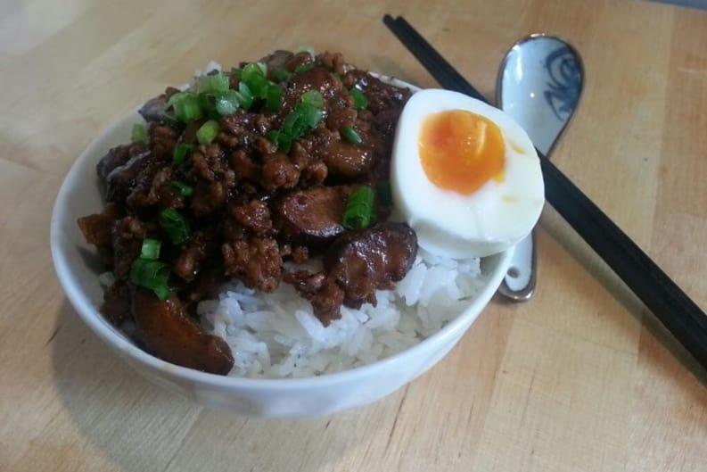 Taiwanese Braised Pork Recipe (Lu Rou Fan)