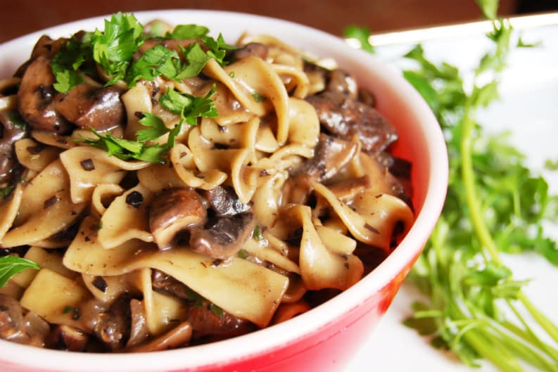 Easy Vegan Stroganoff Recipe