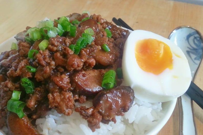 Taiwanese Braised Pork (Lu Rou Fan)