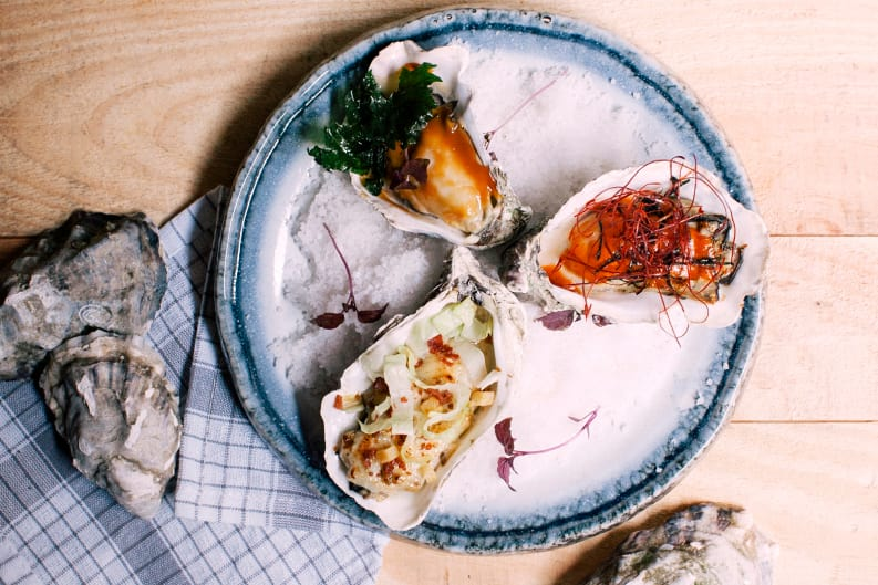 Oysters Review: The Walrus
