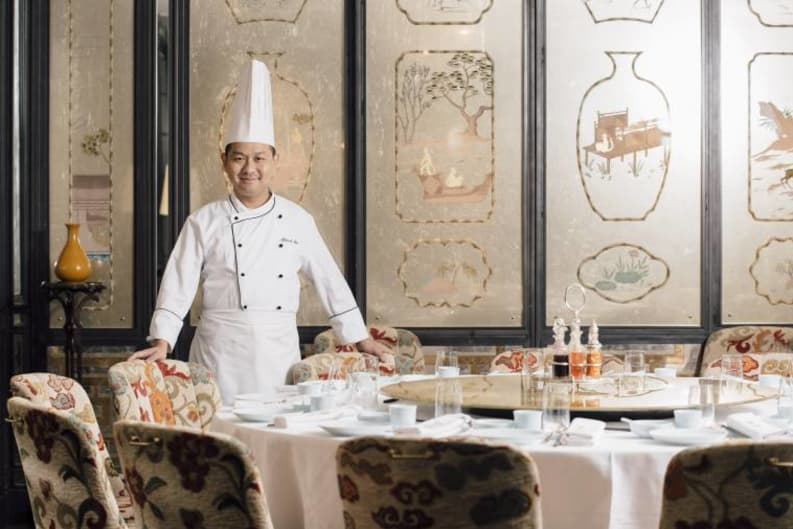 Three Michelin-Starred Chef Makes a Shining Mark in HK