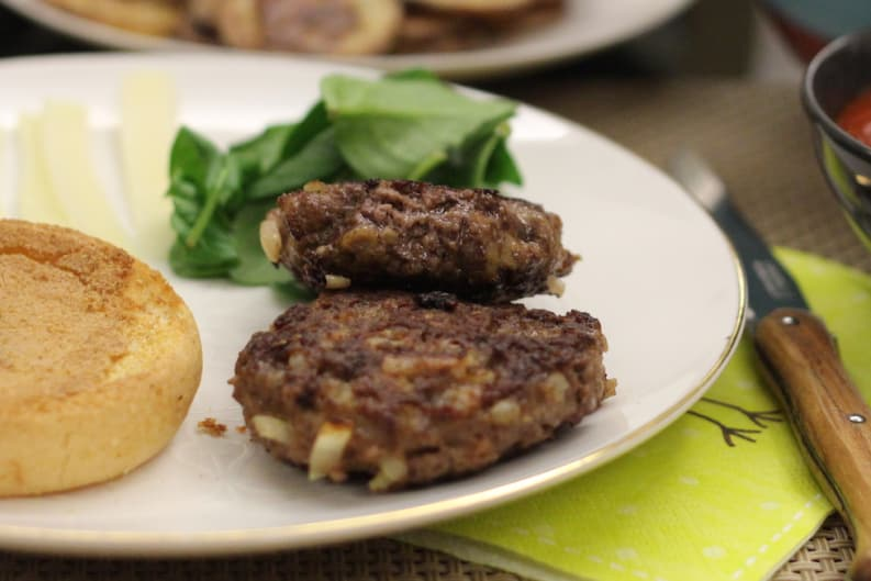 "Gluten and Dairy-Free Burgers with Homemade Tomato ""Ketchup"""