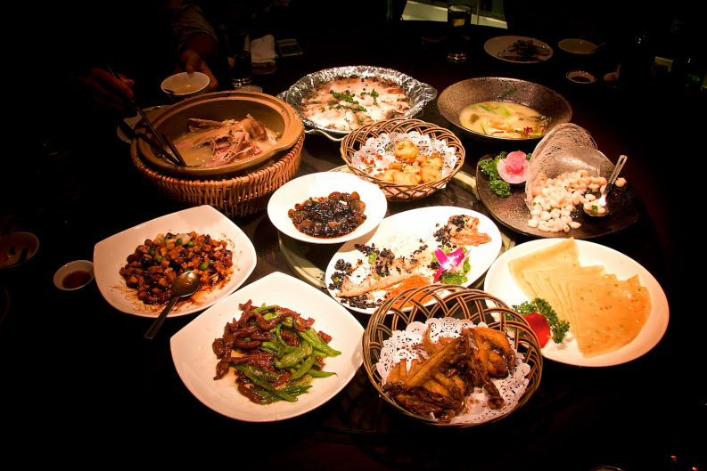 Eating the Food of Mainland China in Hong Kong