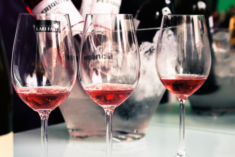 Summers in Hong Kong Call for Drinking Rosé