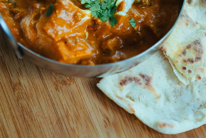 Chicken Tikka Masala and Quick Flatbreads Recipe