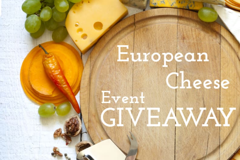 European Cheese Event Giveaway