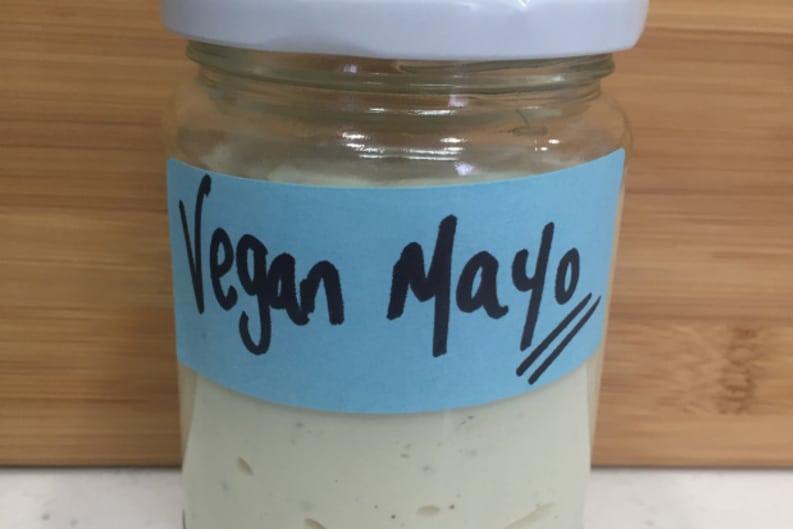 How to Make Vegan Mayo