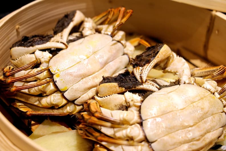 How to Steam Hairy Crab