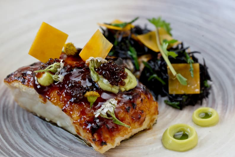 New Foraged Seaweed Dishes at Armani/Aqua