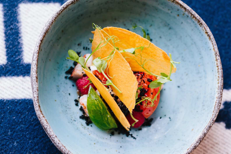 Burrata with Tomatoes Recipe [Magazine Feature]
