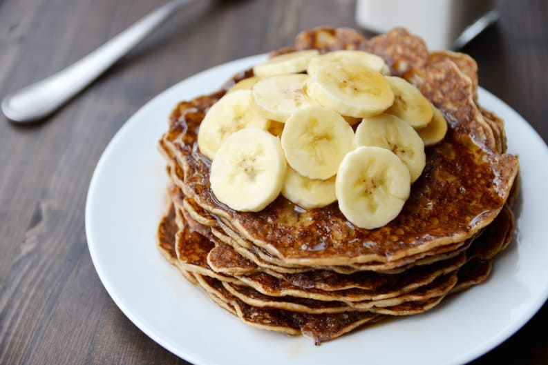 My Sunday Pancake Recipe (Gluten Free) (Vegan)