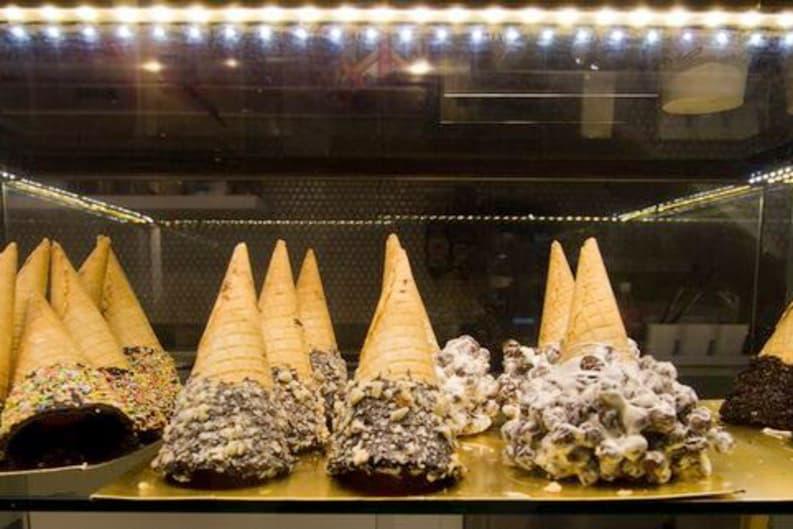Design Your Own Ice Cream Cone at Emack & Bolio's