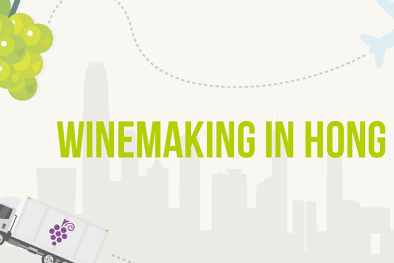 Winemaking in Hong Kong