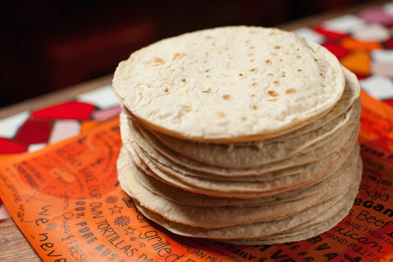 Freshly Baked Corn Tortillas and New Mouth-Watering Fillings