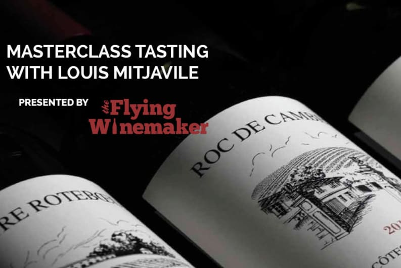 The Flying Winemaker Presents: An Exclusive Masterclass Tasting