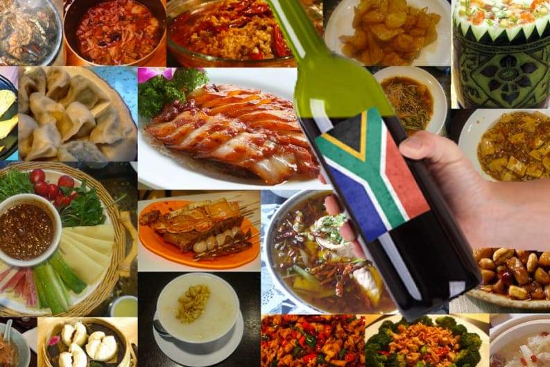 Matching South African Wines with Chinese Cuisine