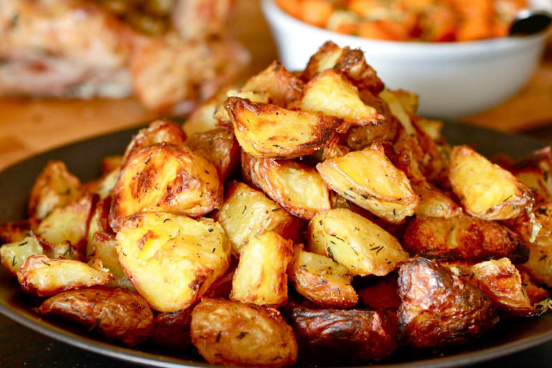 Boozy Recipe: White Wine Potatoes