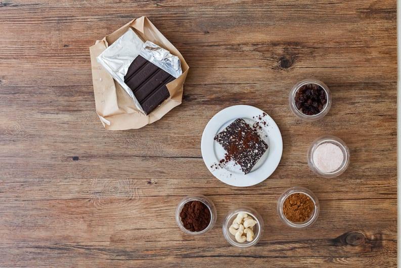 Raw Chocolate Brownie: Recipe