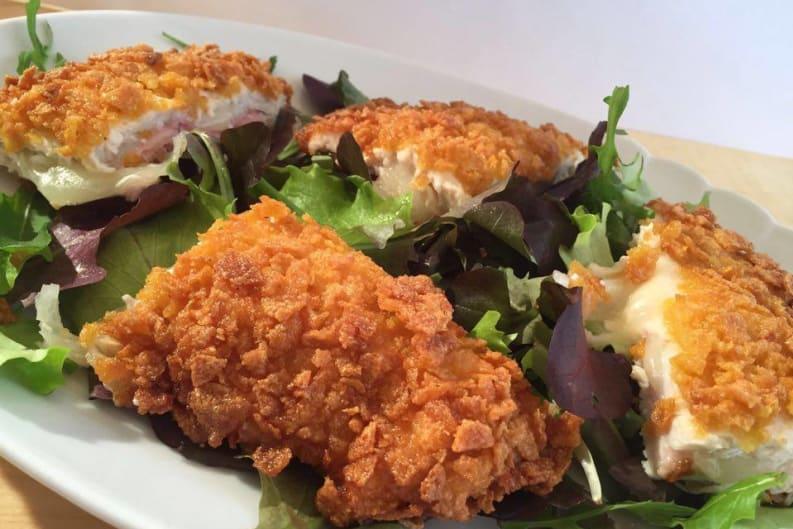 Crunchy Stuffed Chicken: Recipe