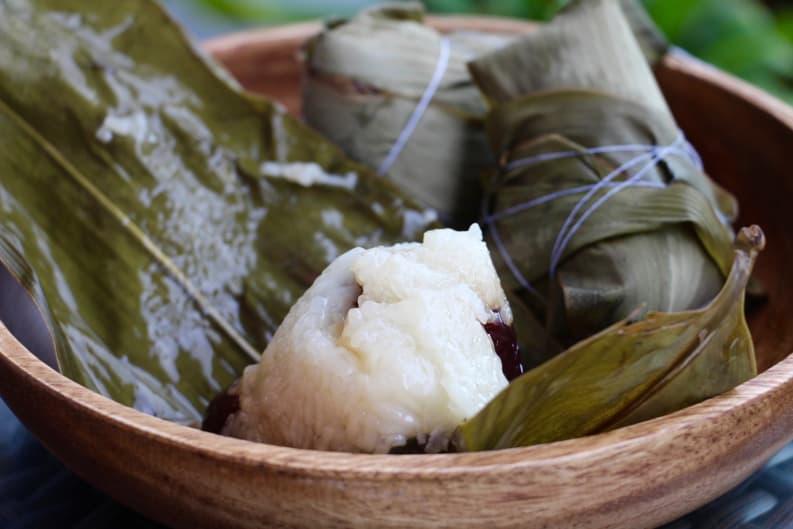RECIPE: DIY Sticky Rice Zongzi 粽子 for Dragon Boat Festival