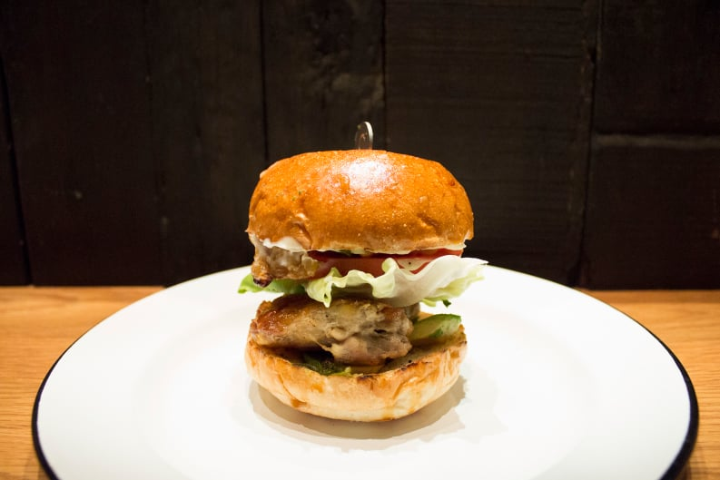 NEW Menu: Cluck Norris at Beef & Liberty